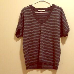 LOFT short sleeved sweater